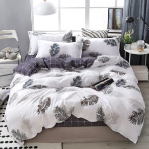 Lanke Cotton Bedding Sets Home Textile Twin King Queen Size Bed